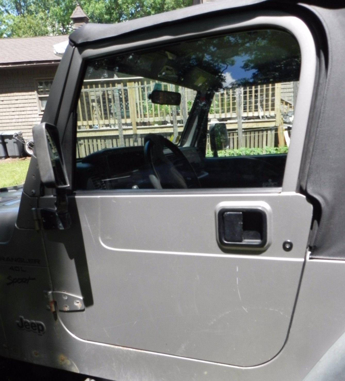 Jeep Wrangler Tj Full Hard Doors Pair 97 06 Jeep Wrangler Tj Jeep Wrangler Tj