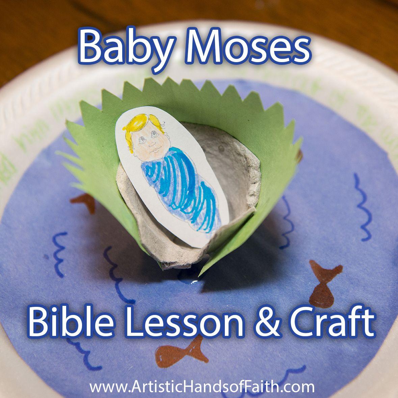 family worship idea diy bible crafts baby moses bible