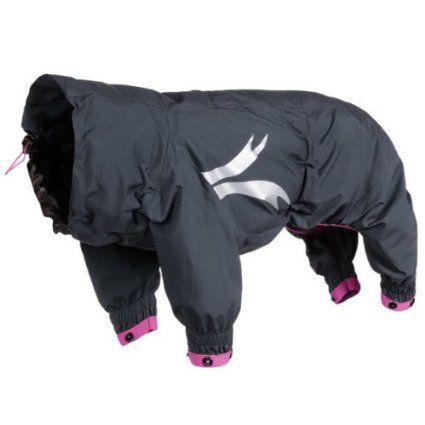 Hurtta Collection 24-Inch Slush Combat Suit for Pets, Medium, Granite