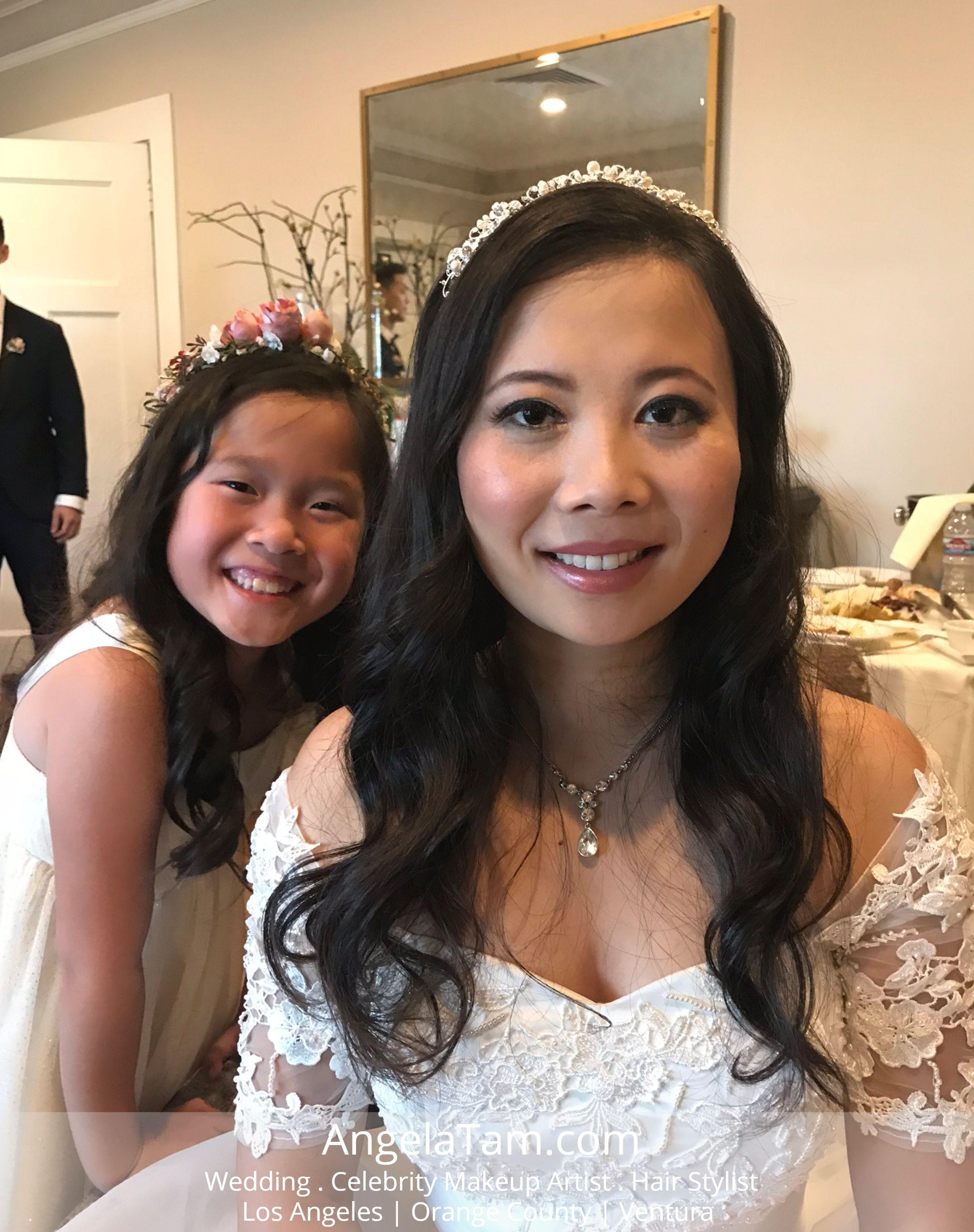 altadena country club wedding | asian bride vanessa – makeup