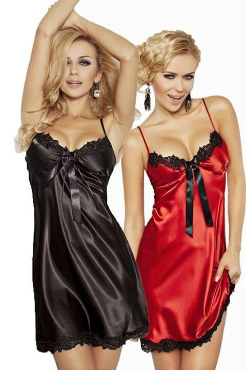 Lesbians in silk lingerie