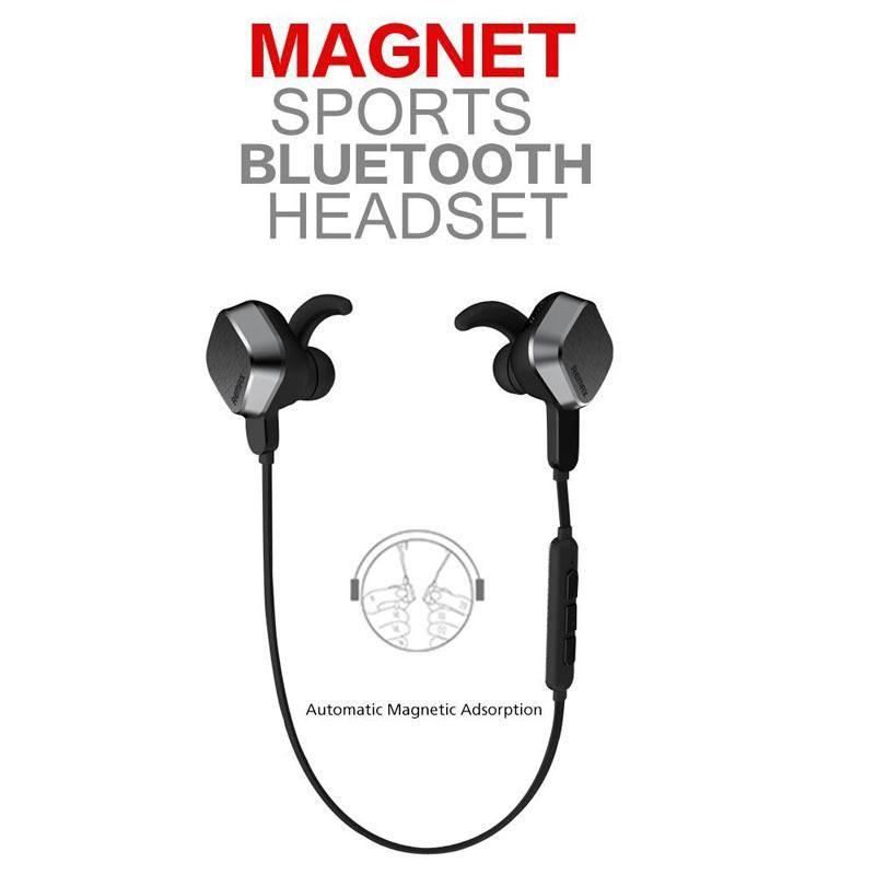 Original Remax Rm S2 Headphone Wireless Sports Bluetooth 4 1 Stereo Earphone Magnet Headset Noise Cance Wireless Headphones Headset Bluetooth Headset
