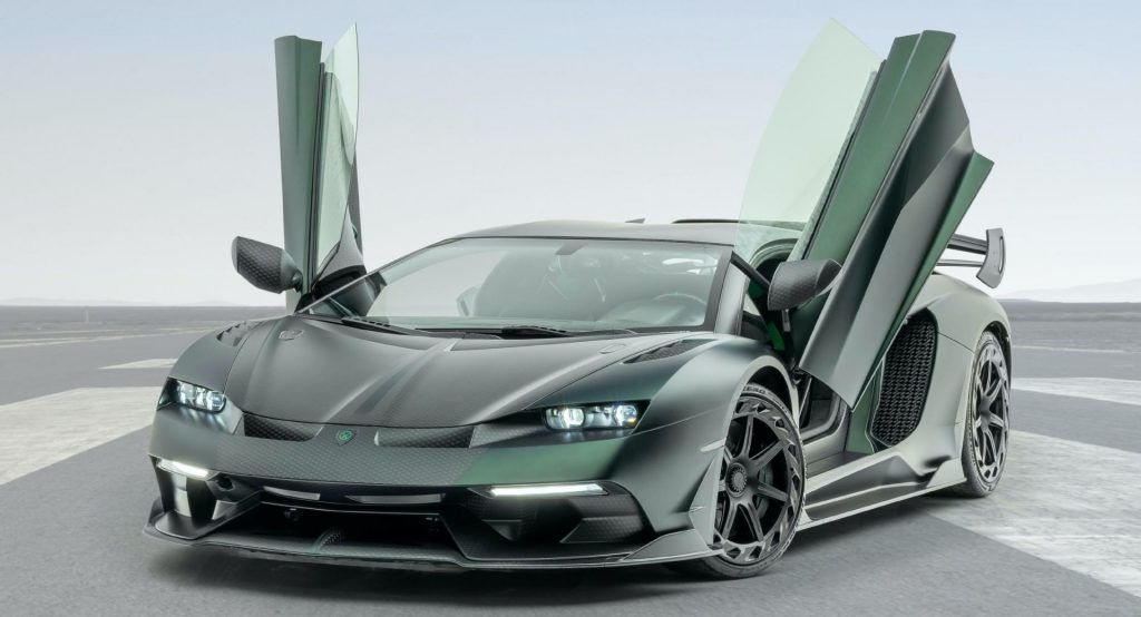 799 Hp Mansory Cabrera Is A New Fighting Bull Bred From Lambo S
