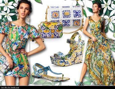 Maioliche Siciliane per la pre-collezione Dolce   Gabbana a i 2012 ... b67cbe416cd