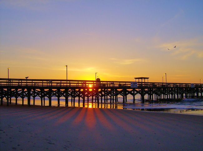 Springmaid Pier Myrtle Beach Easter Sunrise Jpg 650 485 Great Places Pinterest