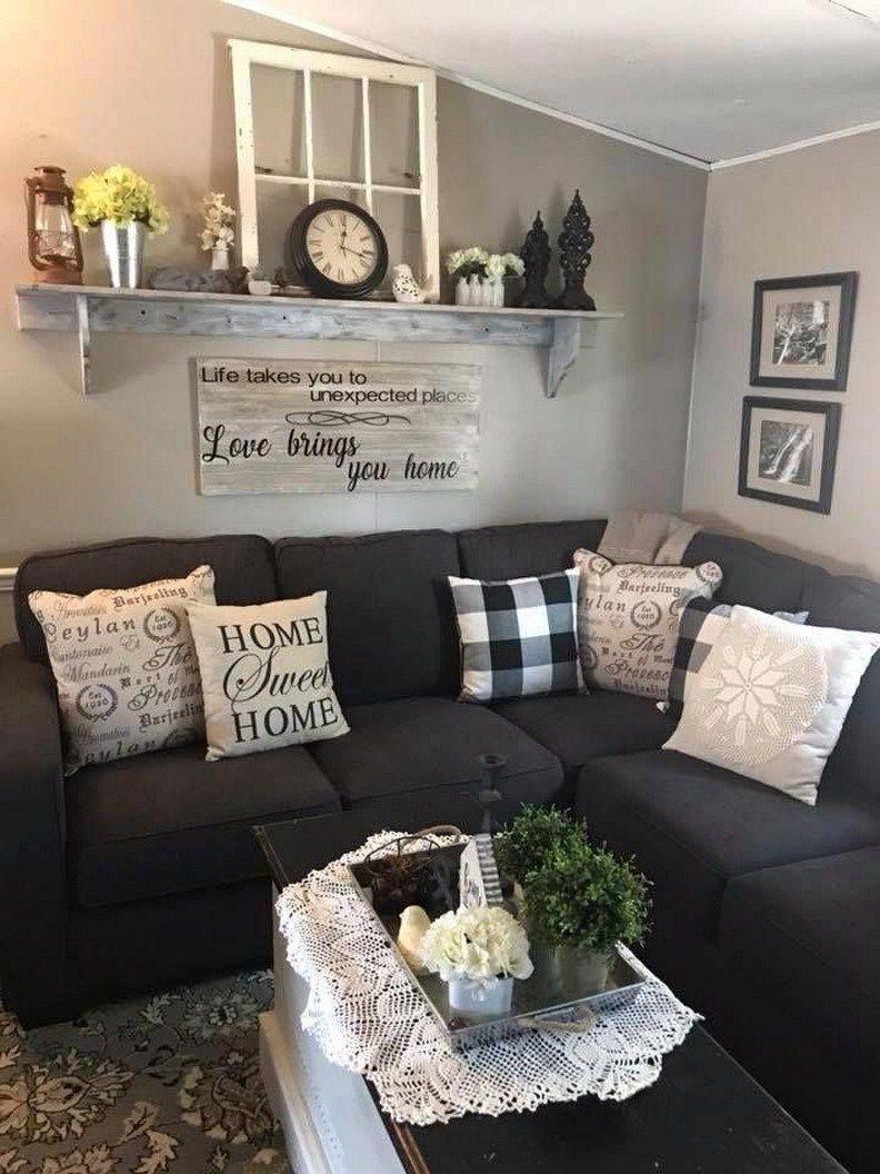 78 Rustic Farmhouse Living Room