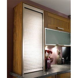 600mm Tambour Door Kit 1400mm High Stainless Effect Shutter East Coast Kitchens Bedrooms Ltd Interer Kuhni Remont Doma Makety Kuhni