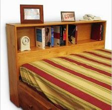 How To Build A King Size Bookcase Headboard Bookshelf