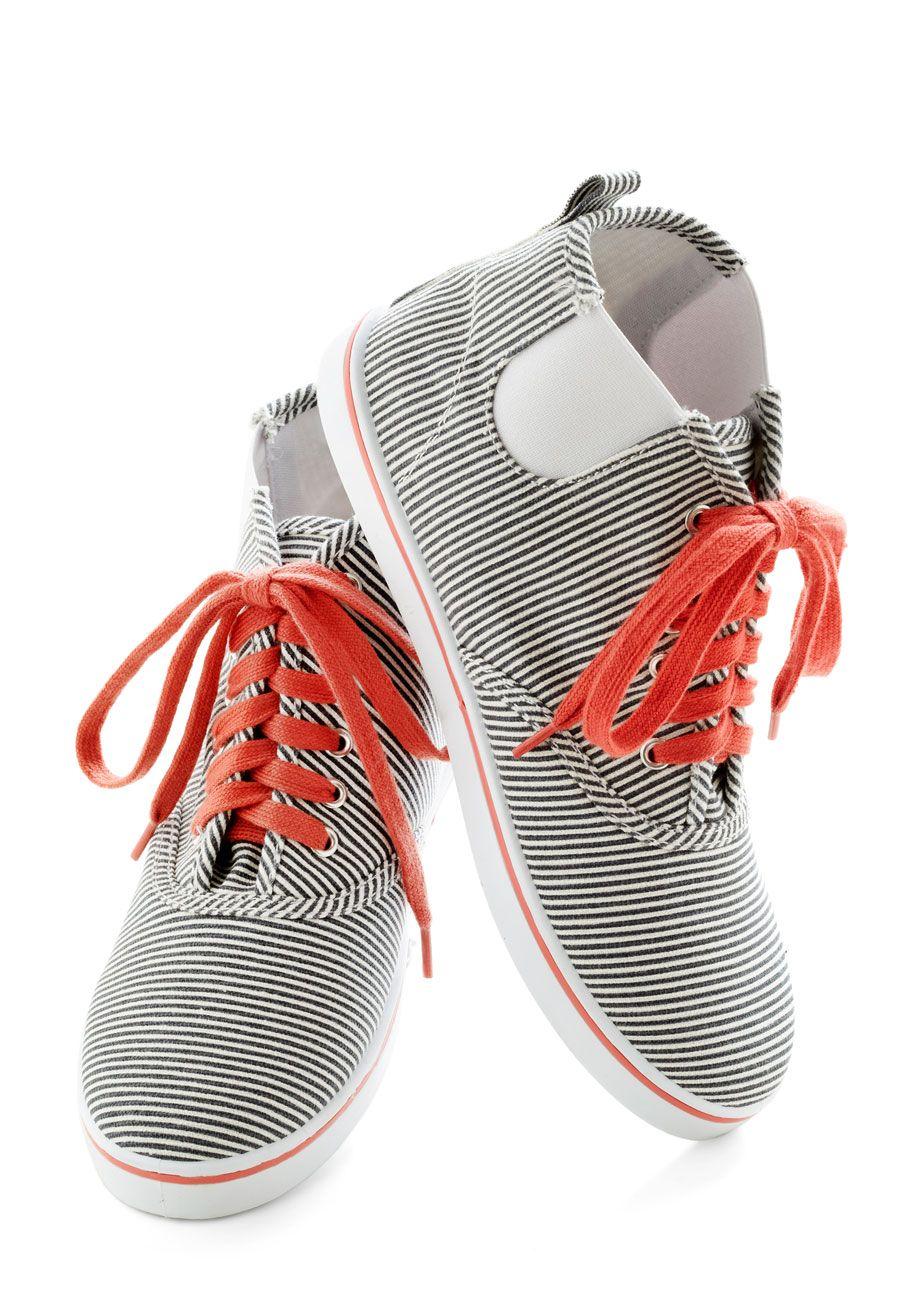 The Path to Fun Sneaker | Mod Retro Vintage Flats | ModCloth.com