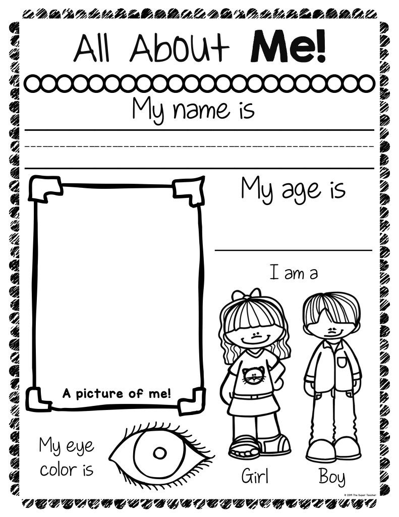 How To Easily Get Students Interested In Writing All About Me Worksheet Kindergarten Worksheets Free Kindergarten Worksheets