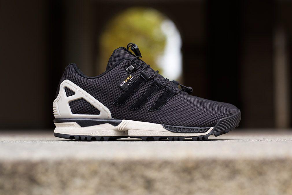 Adidas Zx Flux Winter Black Grey Eu Kicks Sneaker Magazine Sneakers Men Fashion Sneakers Fashion Sneakers