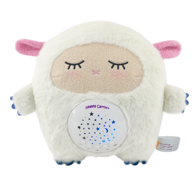 Baby Lamby Sound Machine: Portable Soother and White Noise Machine