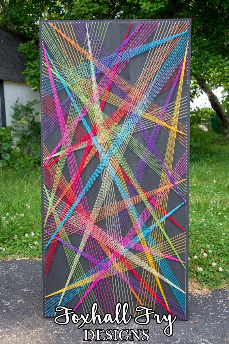 BEAMS Abstract String Art