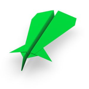 traditional canard paper airplane for kids | Kids | Airplane