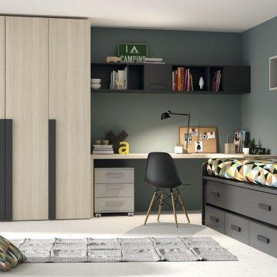 Dormitorio juvenil adolescente ideas para el cuarto de - Habitacion juvenil nina ...