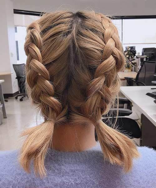 double dutch braids   hair styles in 2019   braids for