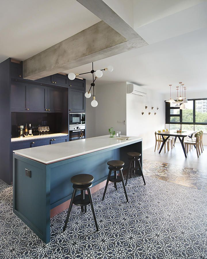Home Design Ideas For Hdb Flats:  House Tour: $70k Reno Of 5-room HDB Flat With Lots Of