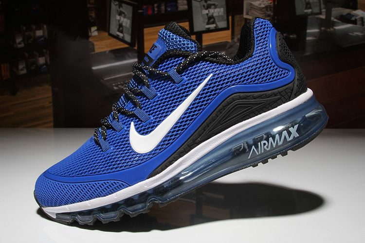 Nike Air Max 2018 Blue Black Men KPU