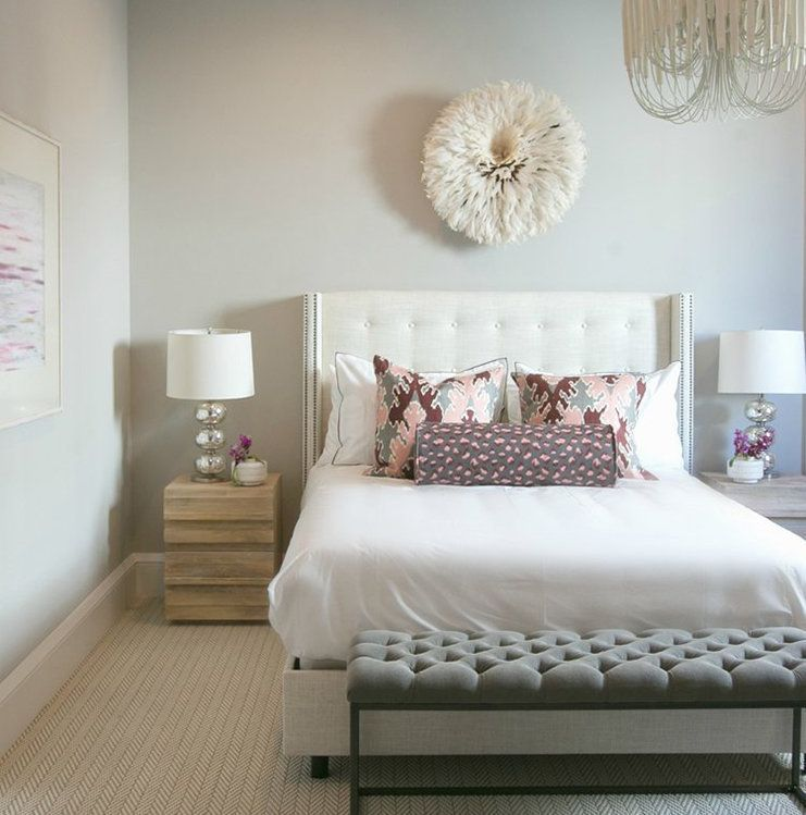 Carpeted Bedroom in the Indianapolis Home of Distinction ...