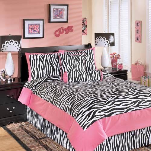 Zebra+Loft+Beds+For+Teens | Teen Girl Zebra Bedding