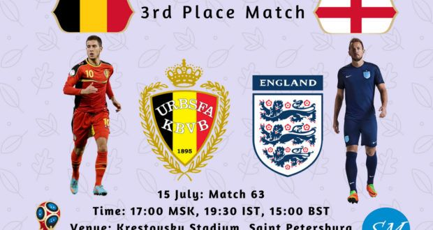 Belgium Vs England 3rd Place 2018 World Cup Live Coverage Tv Channels World Cup Live World Cup England