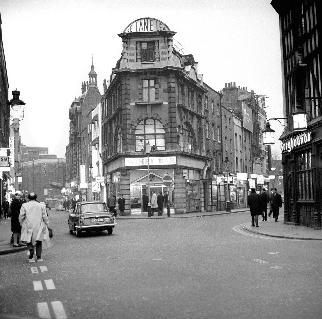 Old Compton Street In Soho London 1966 Compton Street Soho London London History