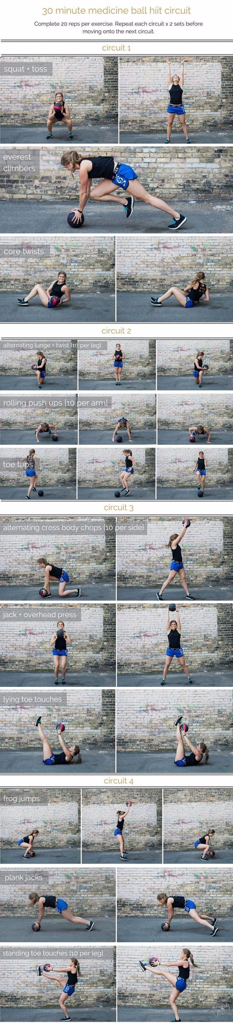 #Ball #Circuit #fitness #HIIT #langhantel #langhantel fitness #Love #medicine #Ball #Circuit #HIIT #...