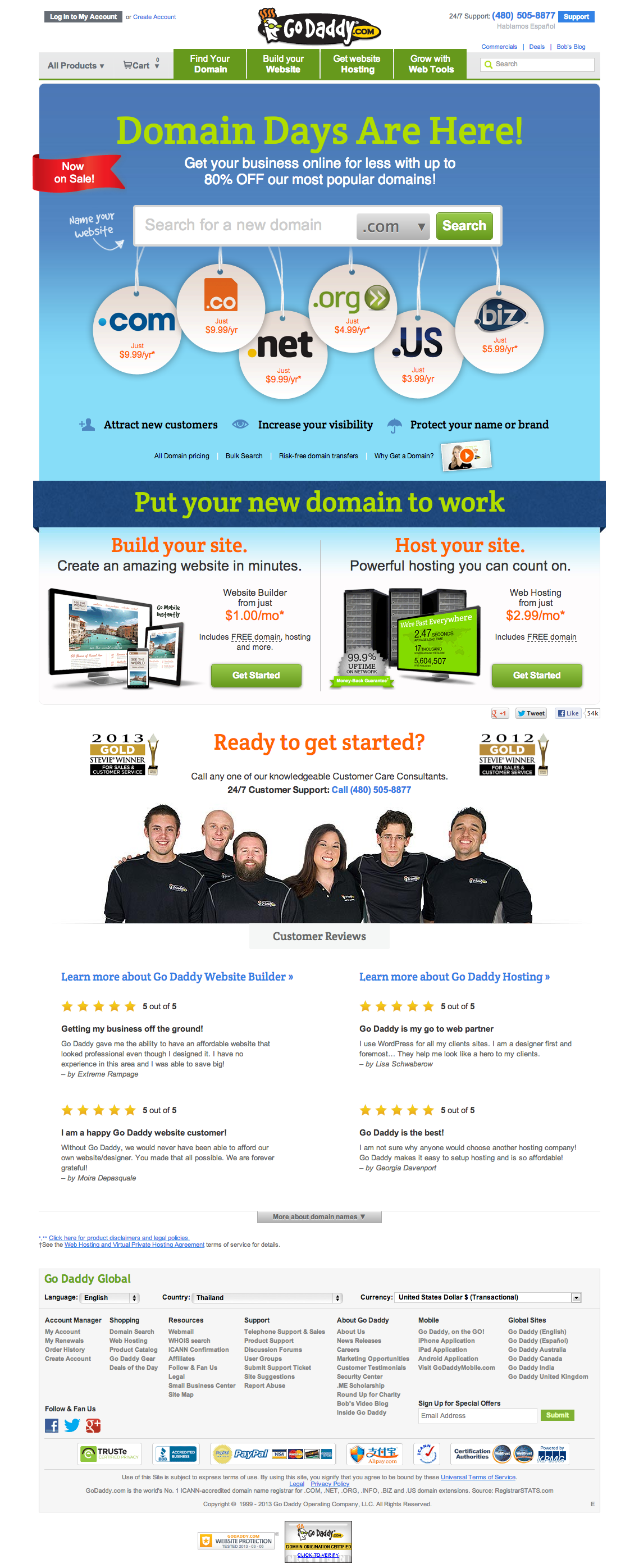 Domain Names The World's Largest Domain Name Registrar