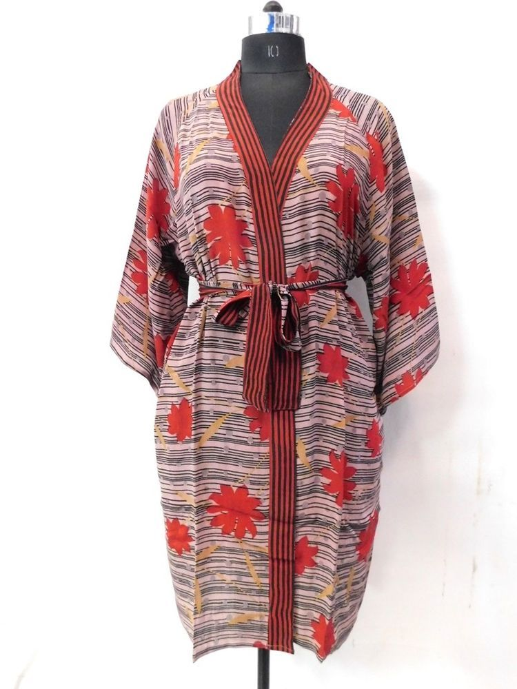33d47a9a5a Women Dressing Gown Intimates Evening Bathrobe Kimono Nightwear Sleepwear  Robe  fashion  clothing  shoes  accessories  womensclothing  intimatessleep   ad ...
