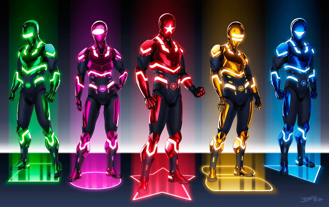 Power Rangers Redesigns | Power Rangers | Power rangers ...