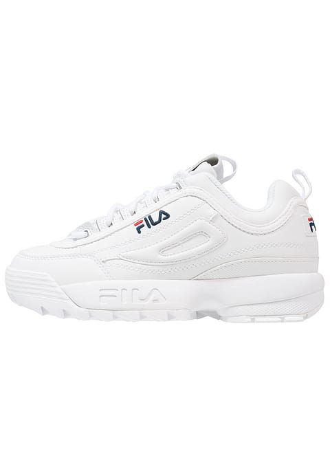 White Disruptor Basses Low Fila Baskets Blanc119 95 Chaussures vNm80wOPyn