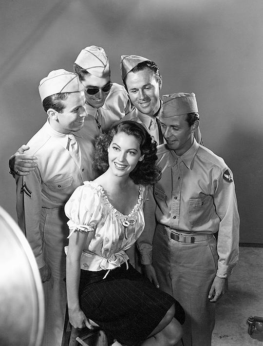 Ava Gardner by Paul Hesse, 1940s