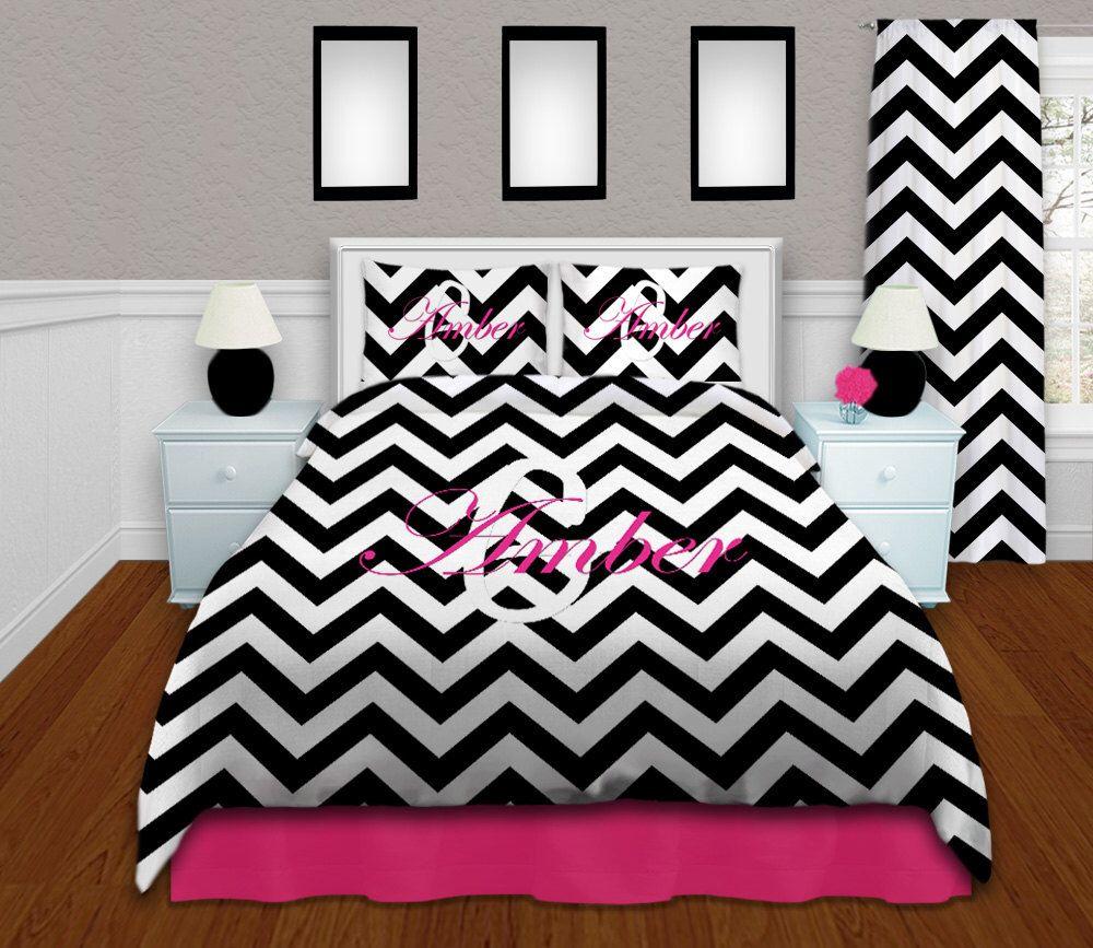 chevron twin xl comforter black and white bedding set queen dorm xl twin bedding - Twin Xl Comforters