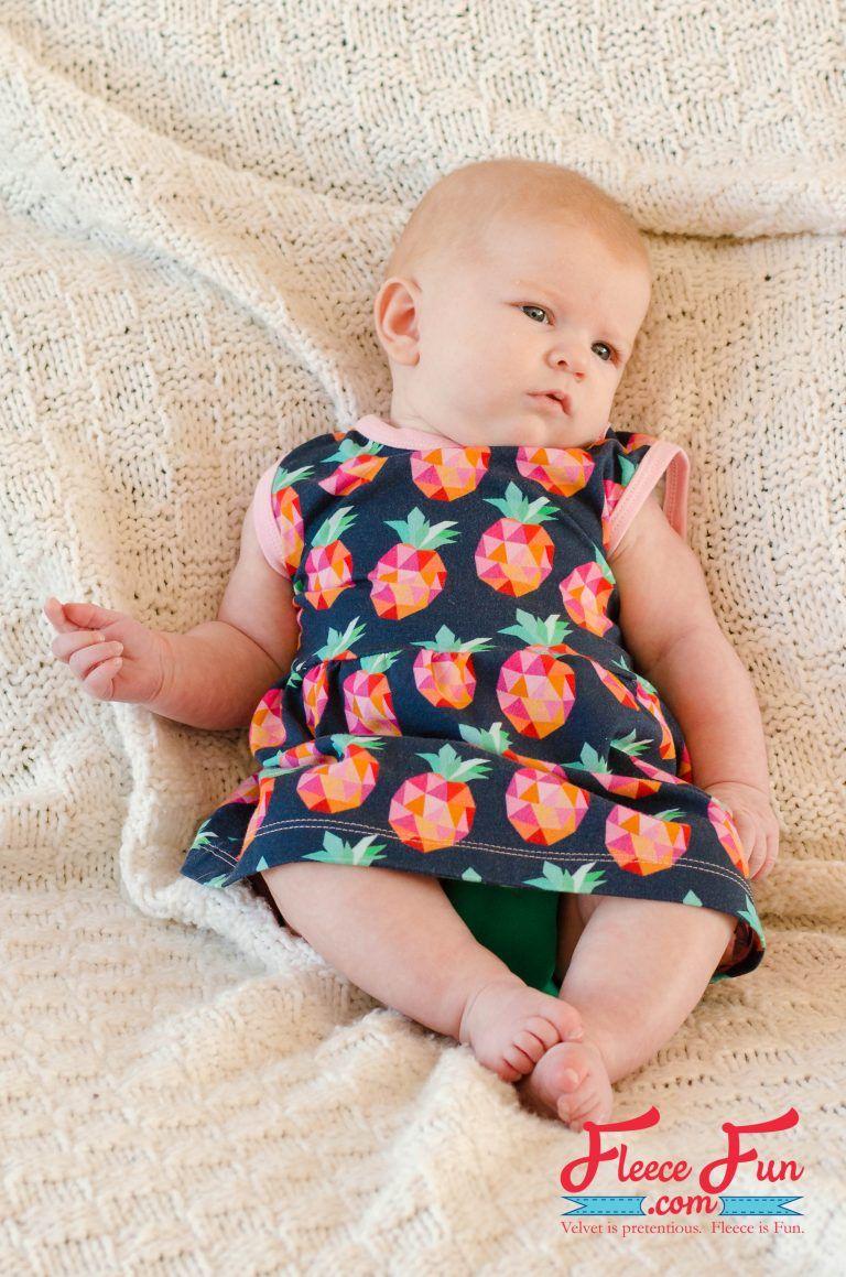 Baby knit sundress free pattern jersey knits months and free