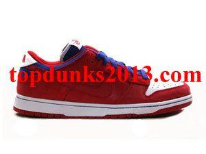 sale retailer 3dbdb 2f157 Review Supermen Varsity Red Royal 2010 Nike Dunk Low SB