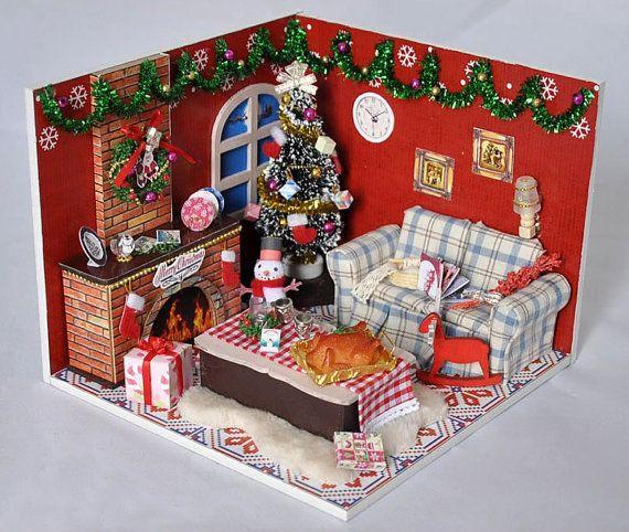Decoration De Noel Decorations Miniature Cadeau Bricolage