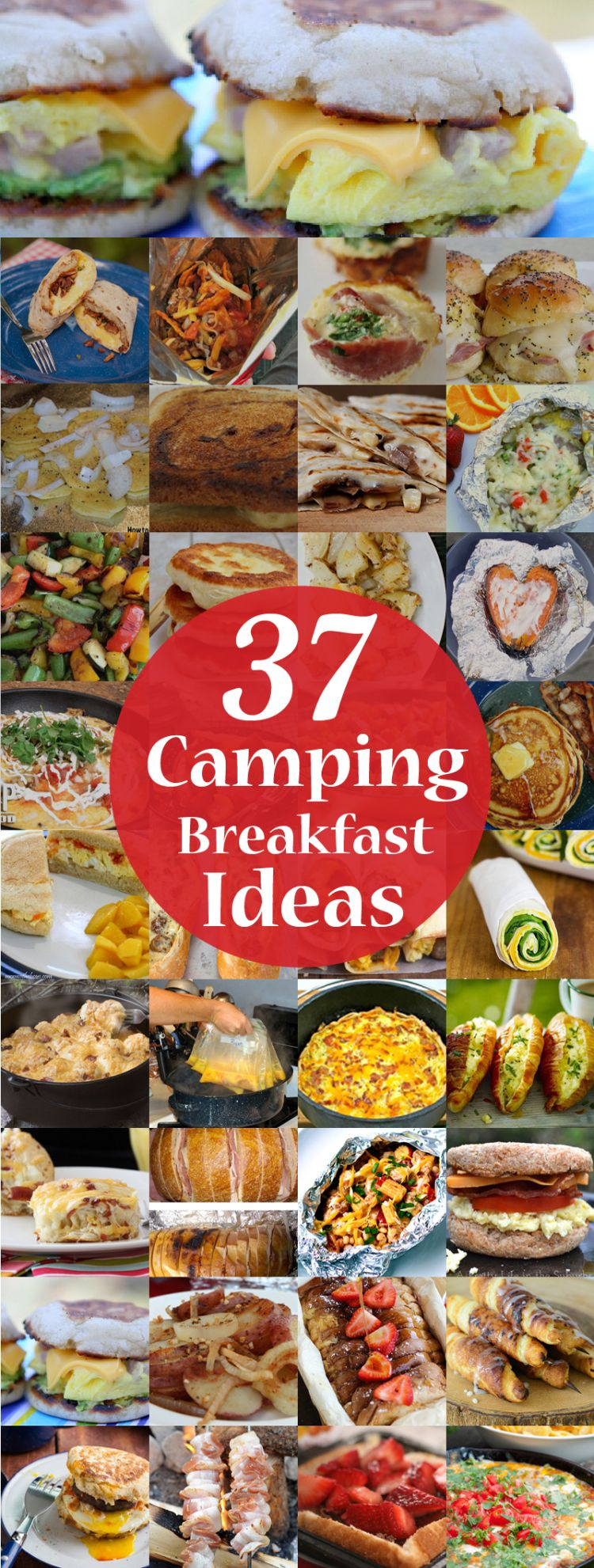 37 Ideas To Use All 4 Bahtroom Border Tile Types: 37 Camping Breakfast Ideas From Around The Web