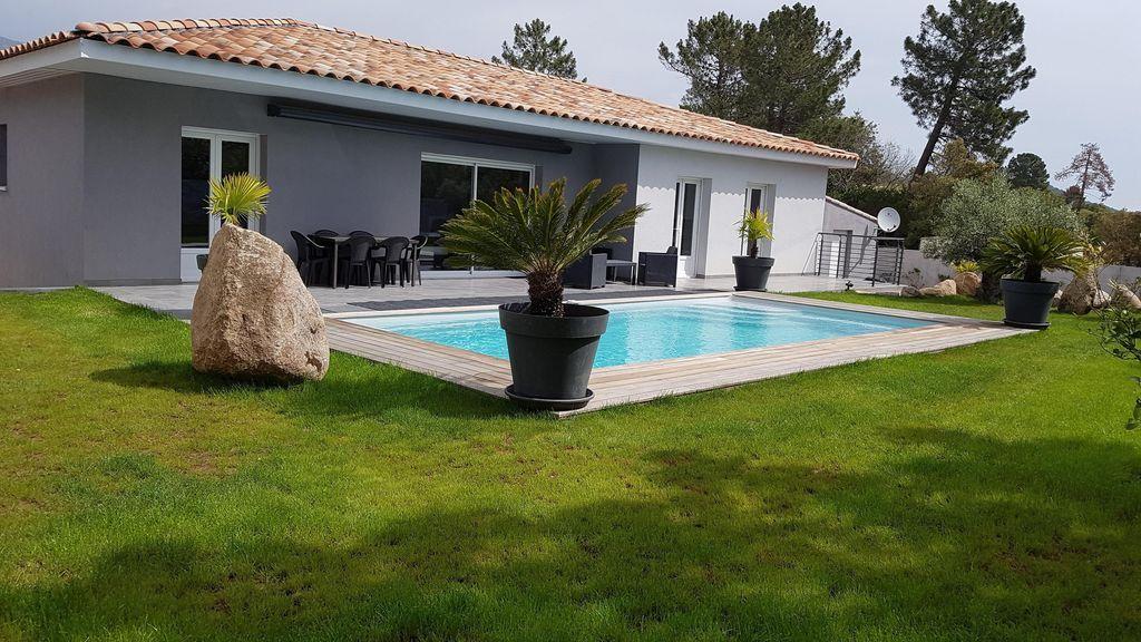Porto-Vecchio, Maison de vacances avec 3 chambres pour 6 personnes - location saisonniere avec piscine privee