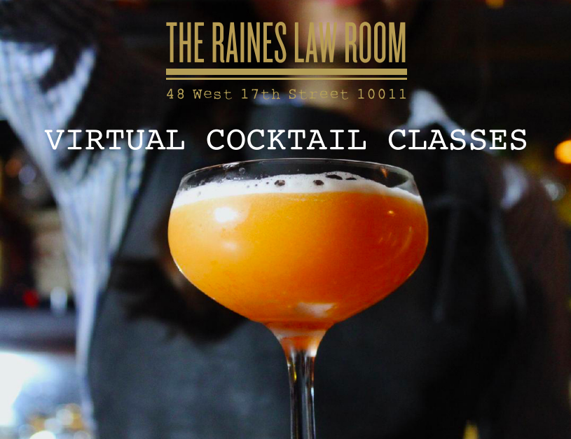 Virtual Cocktail Classes With Dear Irving And The Raines Law Room Cocktails Event Planning Tips Event Director