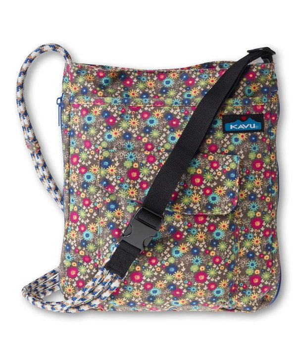 Kavu Mini Meadow Sidewinder Crossbody Bag By Zulilyfinds