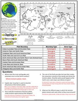 worksheet plate tectonics study guide and practice you rock my world plate tectonics earth. Black Bedroom Furniture Sets. Home Design Ideas