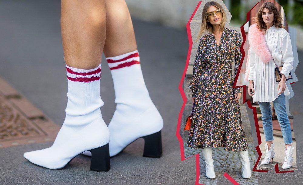 Vom Fashion No Go zum Go: Weiße Stiefel sind jetzt Trend