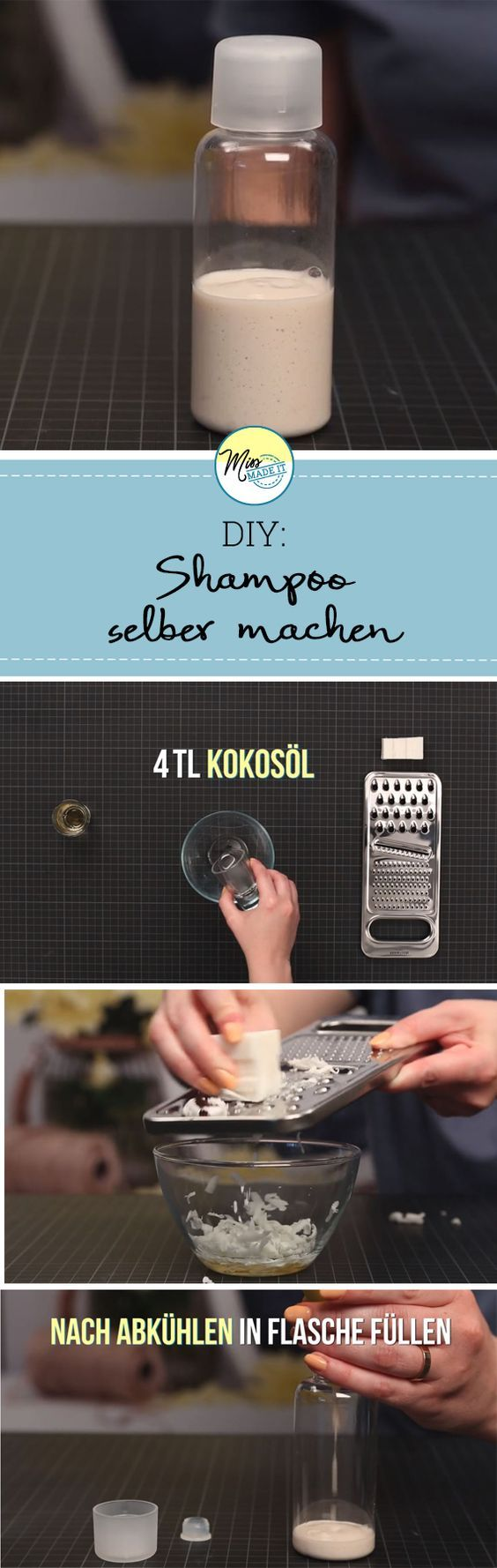 Photo of Make shampoo yourself for every hair type