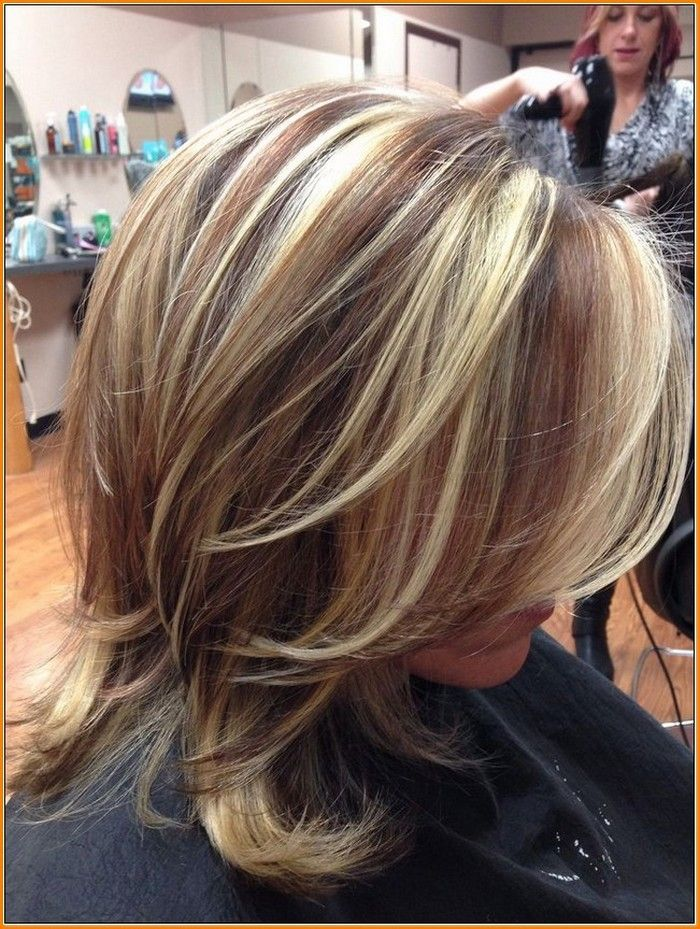Medium Brown Hair Color With Highlights And Lowlights