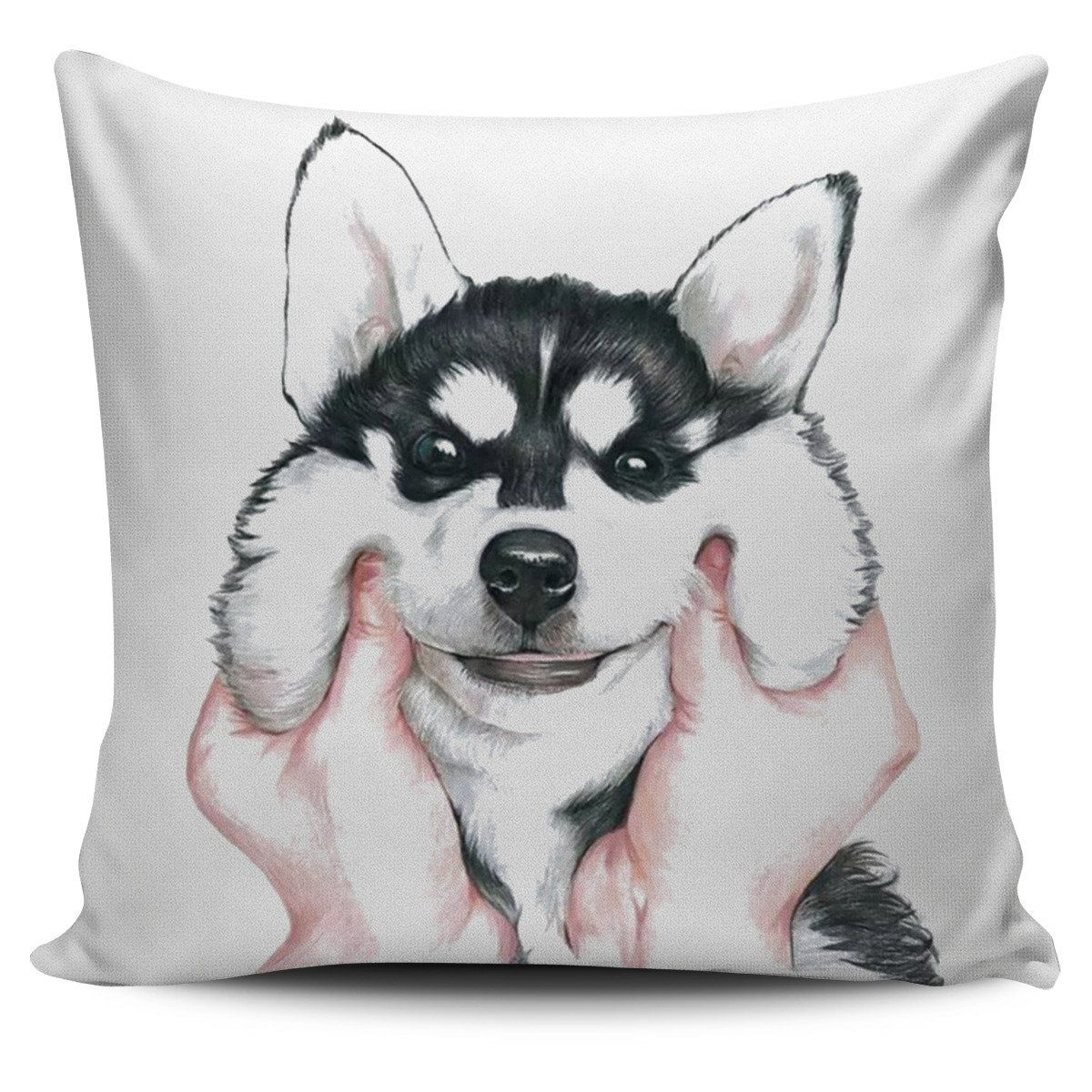 be1f3bf89eb1ed Husky Smoosh Cushion Cover | Products | Cushions, Pillow covers ...