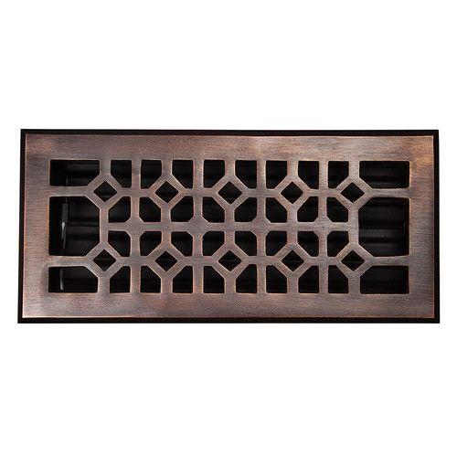 Antique Solid Copper Vent Cover Floor Registers Decorative Vent Cover Vent Covers