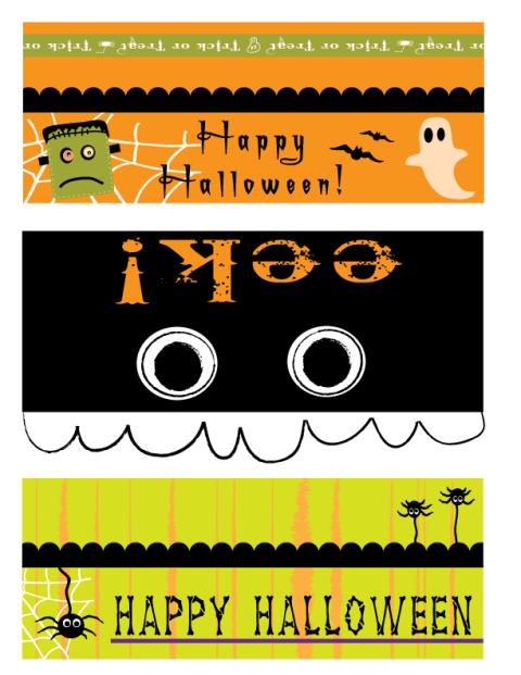 Halloween Party Printables | Halloween bags, Halloween ...
