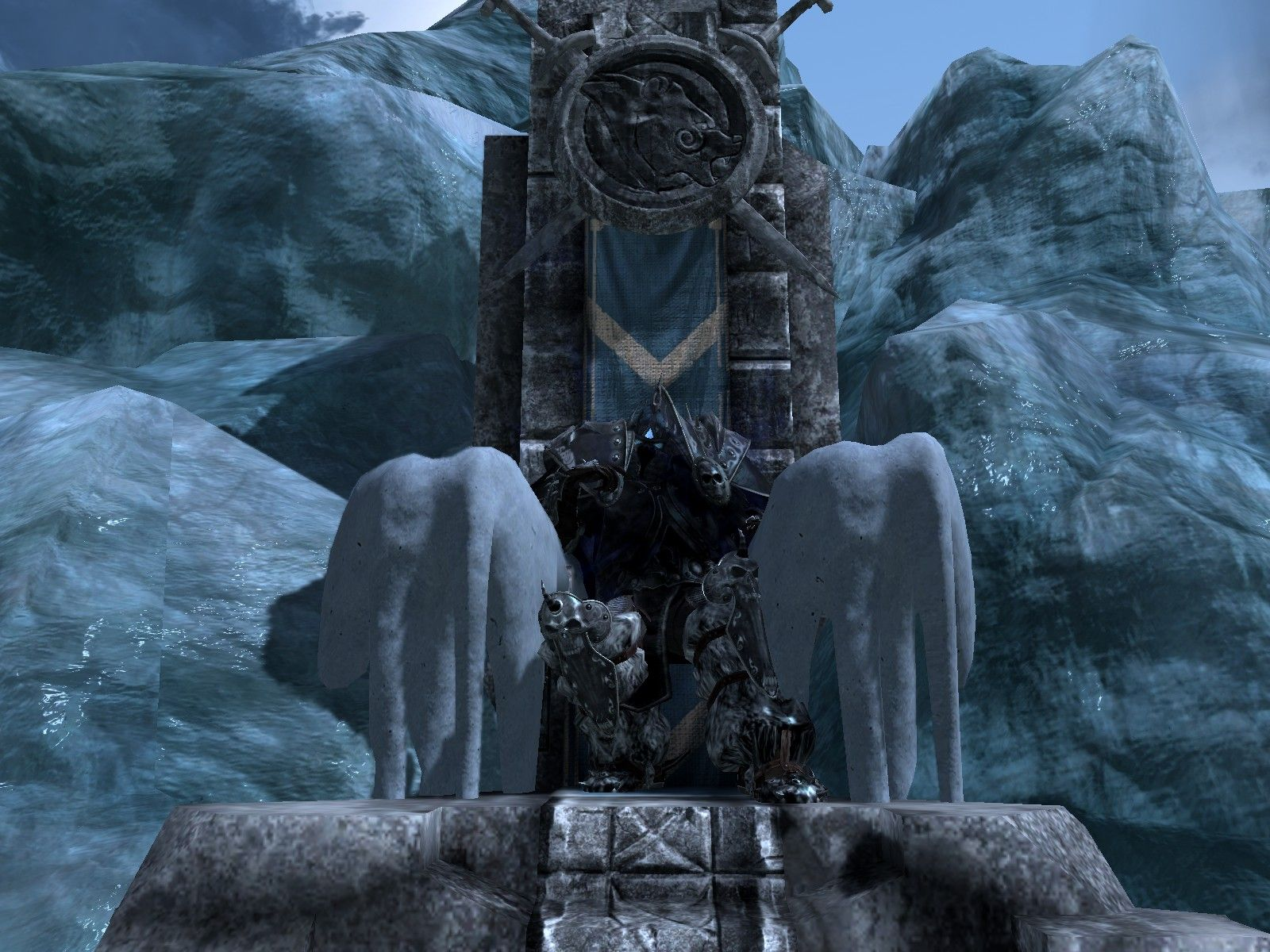 Evil kings throne room - Ice Throne Google Search