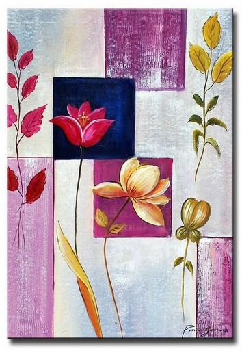 """The Lilac Leaves hand-painted oil on canvas artwork will make a stunning addition to your home's decor.  Each canvas art piece is gallery wrapped and ready to hang, no frame required.  Artwork measures 24"""" Wide x 36"""" Tall"""