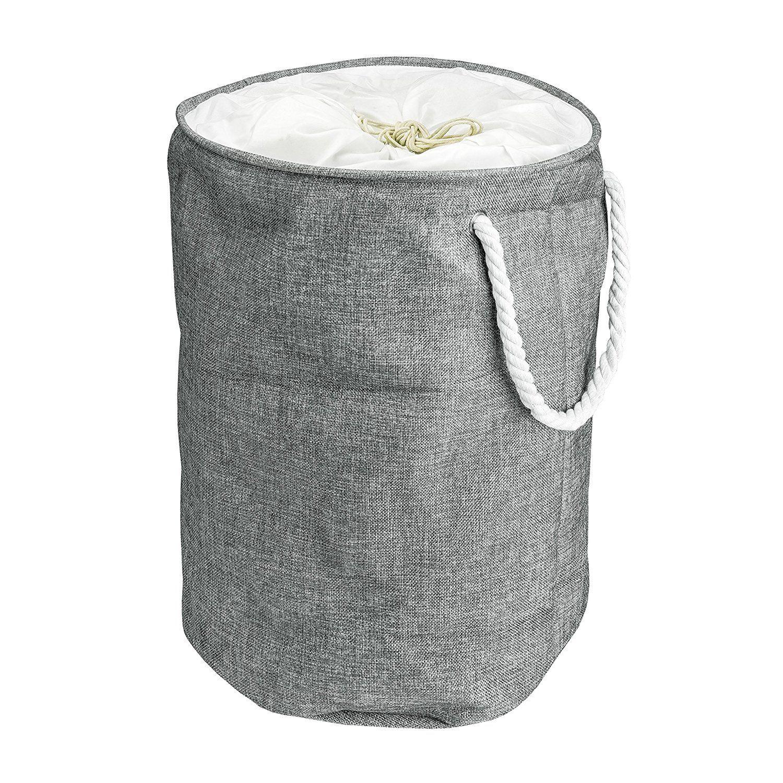 Pani¨re  Linge 100 % Coton & lin Seau de Rangement Cylindrique